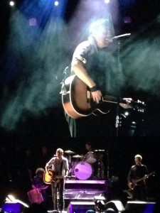 Bruce Springsteen in concert at the MidFlorida Credit Union Amphitheater