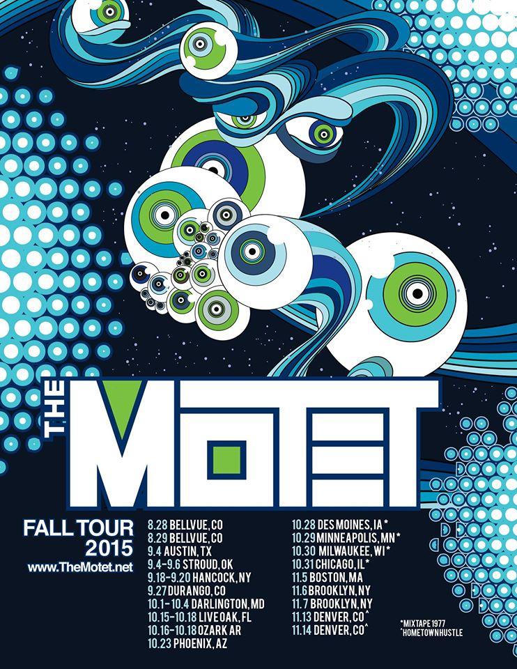 fall tour poster