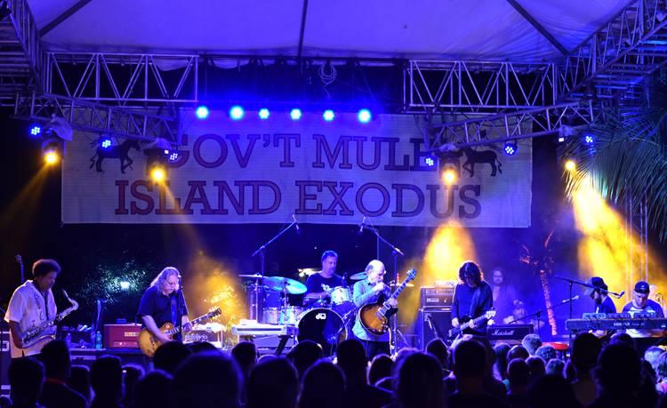 mule island