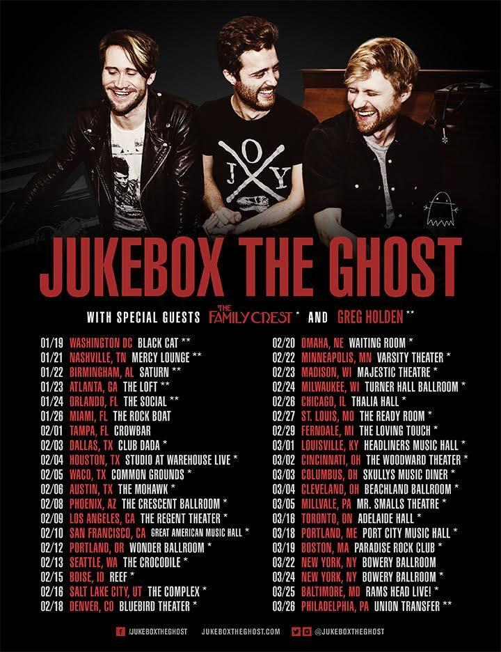 juke tour poster