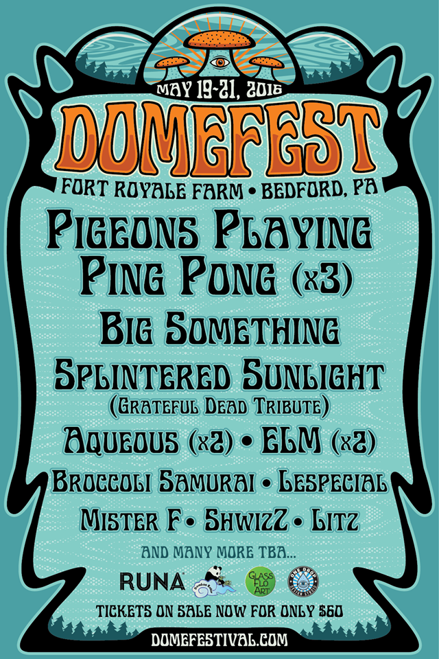 pppp domefest poster