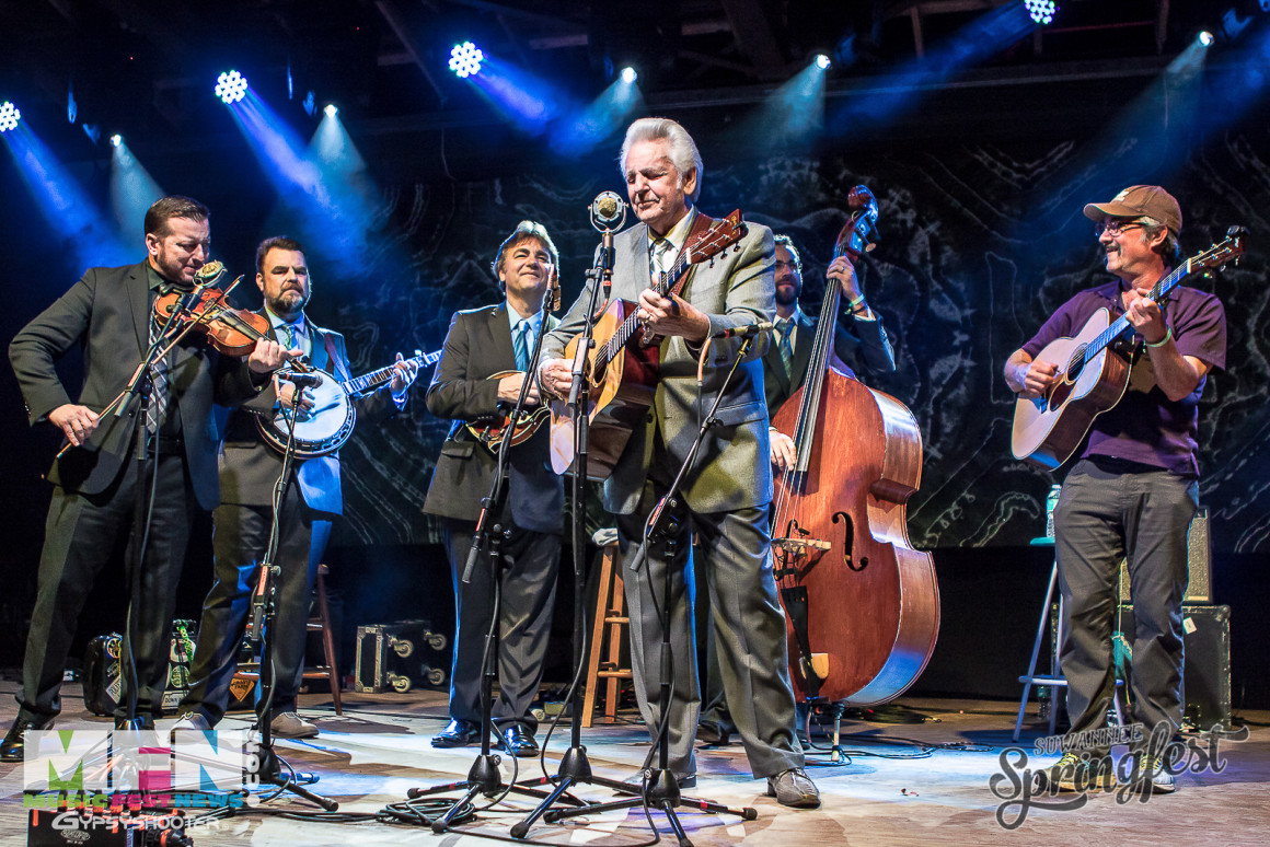 The Del McCoury Band with Larry Keel
