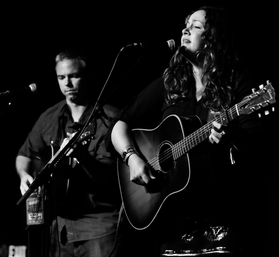Jason Sharp & Nikki Talley. Photo by Brian Hensley