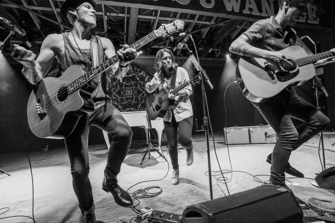 Brandi Carlile & the Twins. Photo courtesy of Brian Hensley