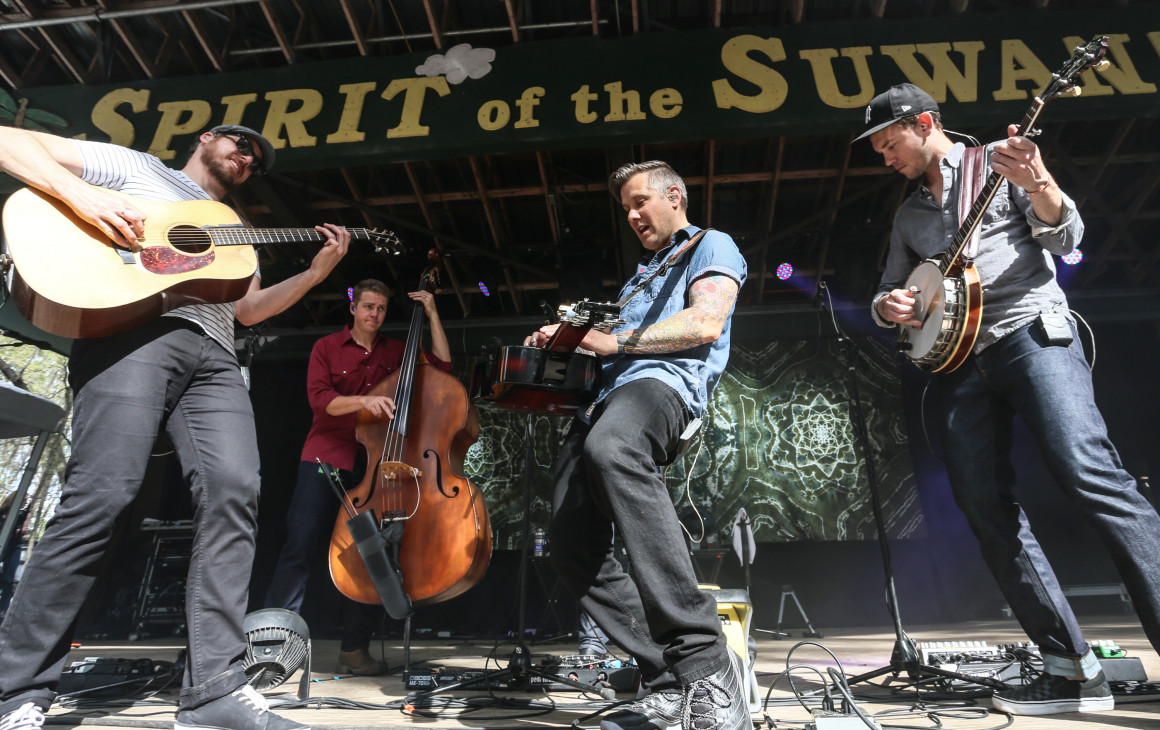 The Infamous Stringdusters. Photo courtesy of Brian Hensley