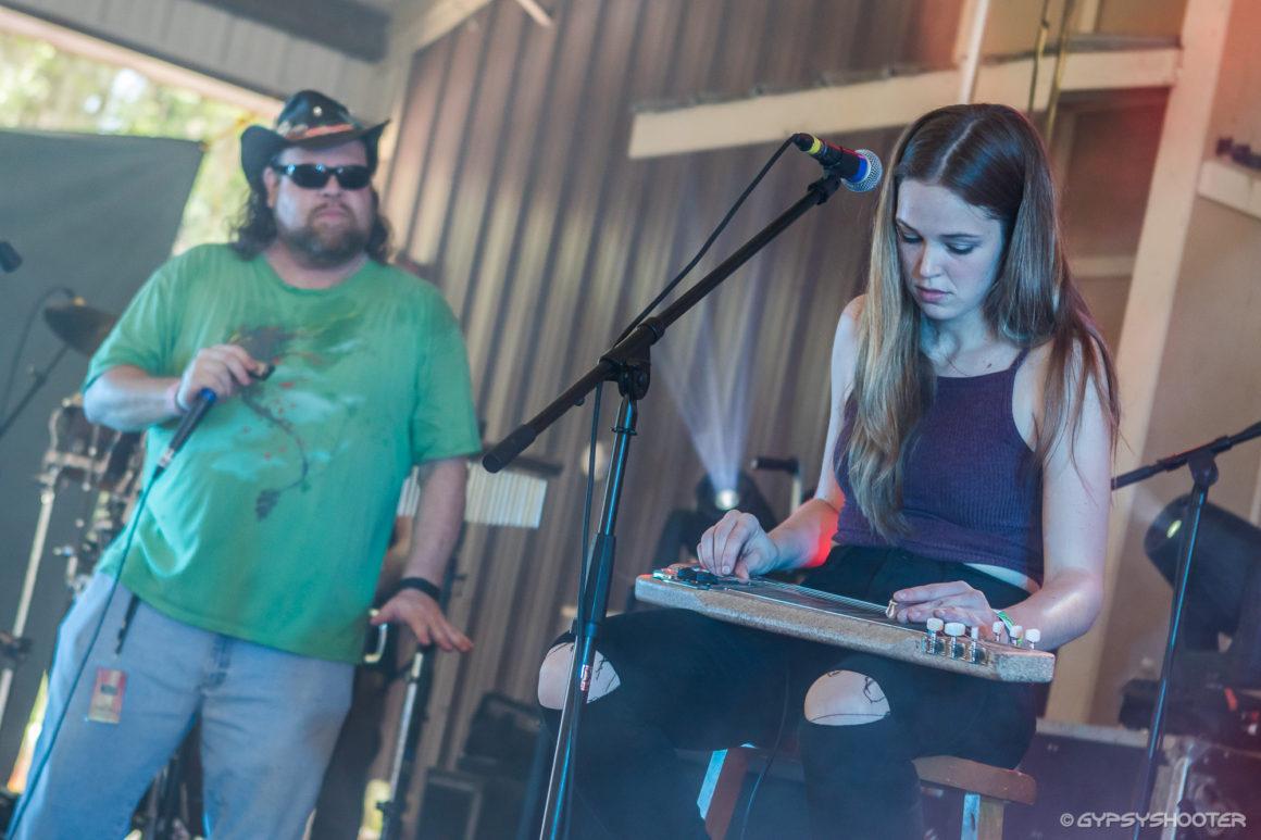 Matt Hillman (MusicFestNews) with Heather Gillis