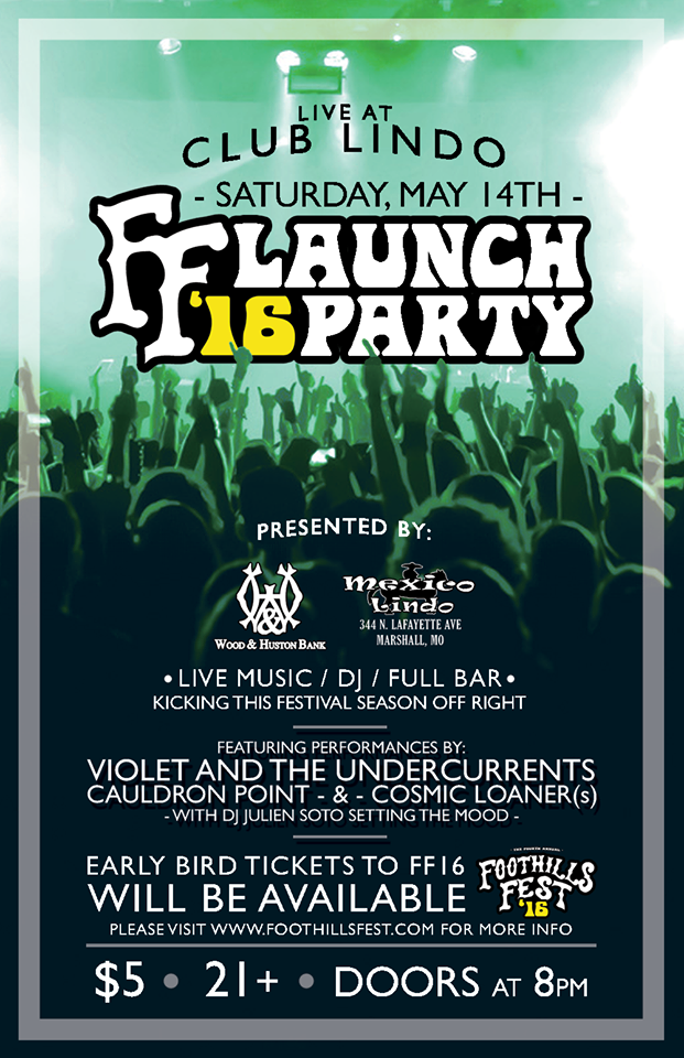 ff launch party poster