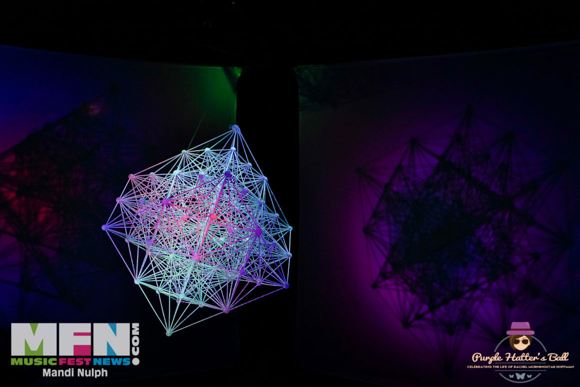 Lattice Fractal Cube by Morph Mobile 3D Sacred Geometry