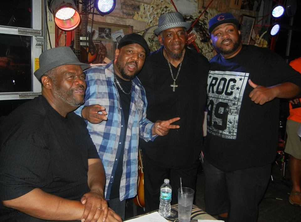 Keith Lee, Roosevelt Collier, Al Lee and Derrick Lee // Photo courtesy of Matt Hillman