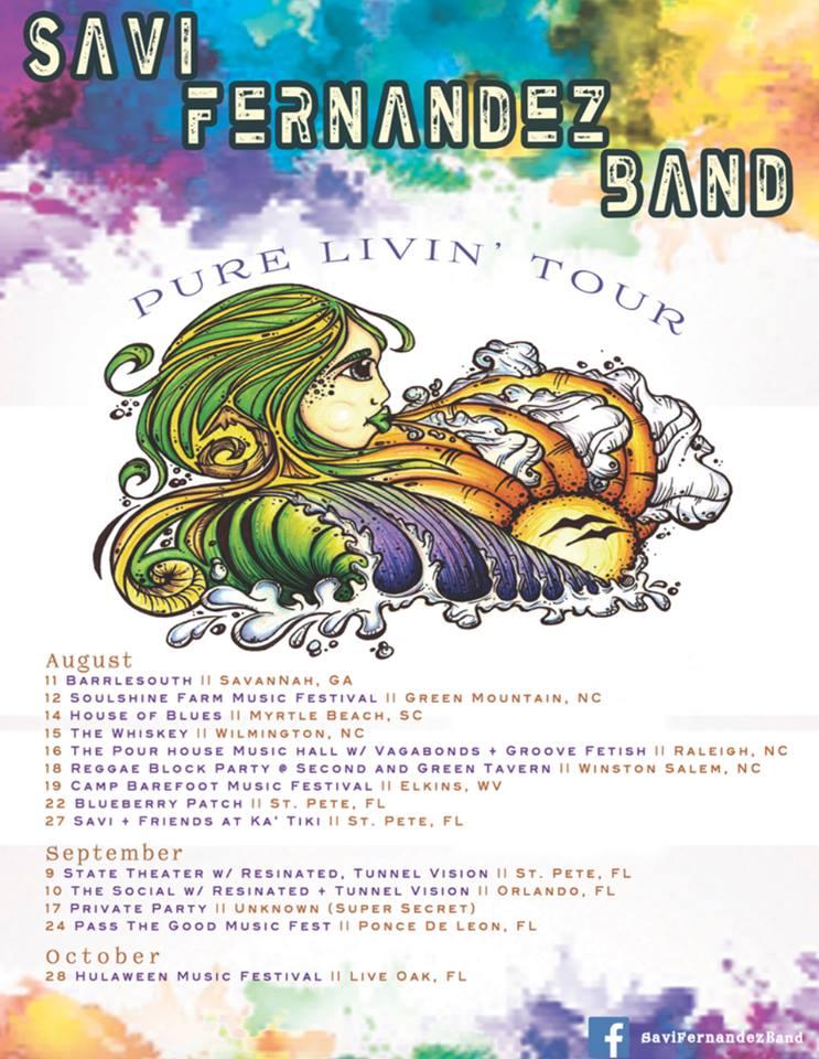 savi tour poster