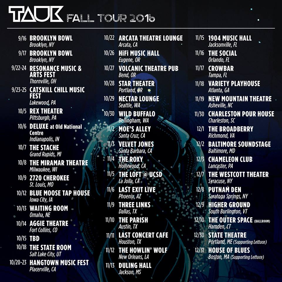tauk full tour